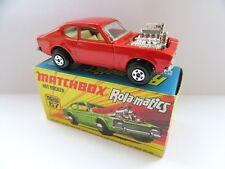 Matchbox Superfast 67b Hot Rocker Ford Capri - Red/Orange - Mint/Boxed