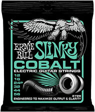 Ernie Ball 2726 COBALT Not Even Slinky Electric Guitar Strings 12-56
