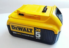 New! Dewalt DCB205 20V 5.0Ah Max XR Li-ion Rechargeable Battery For Power Tools