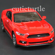 Kinsmart 2015 Ford Mustang GT 5.0 1:38 Diecast Toy Car Red