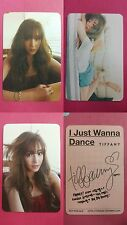 LOT of 3 TIFFANY Official Photocard I JUST WANNA DANCE Girl's Generation SNSD 미영