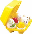 Tomy HIDE N SQUEAK EGGS Learn To Play Baby/Child Sorter Shape Activity Toy BN