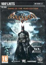 PC Game Batman: Arkham Asylum - Game of the Year Edition DVD shipping NEW