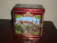 Unique Nurnberger Lebkuchen Music box Tin