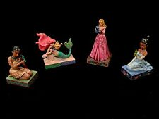 Jim Shore Princess and Her Pal- 4 New to the Set Disney Princess Figurine