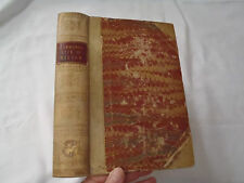 The Life of John Milton by Charles Symmons 1810 3/4 Vellum & Marble PaperBinding