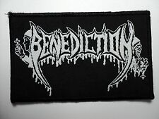 BENEDICTION    WOVEN  PATCH