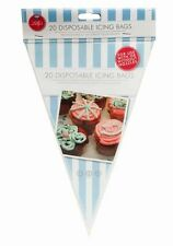 20 x Disposable Icing Bags Sugarcraft Fondant Cake Decorating Cupcake Piping