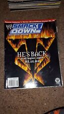The Undertaker WWE WWF Smackdown magazine March 2004 Sable Torrie Wilson