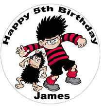 Dennis The Menace Cake Topper