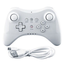 New White Wireless Bluetooth Remote Pro Controller Gamepad for Nintendo Wii U