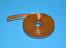 IDC Color Cable Ribbon Cable Roll 12 Feet 10-Pin, Fast ship from USA