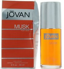 Musk by Jovan for Men Cologne Spray 3 oz.-Damaged Box