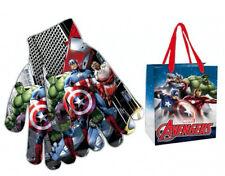 Avengers Hulk Thor Captain america Iron Man Handschuhe Kinder + Geschenk Tasche