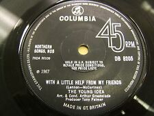 "COLUMBIA DB8205 1967 NORTHERN SONGS THE YOUNG IDEA ""WITH A LITTLE HELP.."" EX-!"