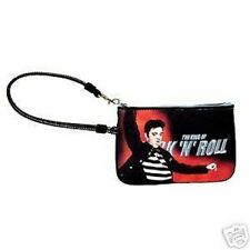NEW Elvis Presley Small Wristlet Cosmetic Pouch BAG Purse