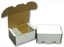 BCW 300 Count- Corrugated Cardboard Storage Box - Single Display Box
