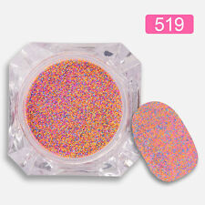 Mixed Colors Matte Nail Art Glitter Dust Powder for Nail Acrylic Decor #519