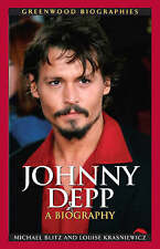 Johnny Depp: A Biography (Greenwood Biographies)-ExLibrary