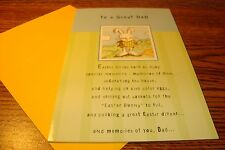 """EASTER : DAD """" To a Great DAD, Memories """" Easter Greeting Card .99  New e10"""
