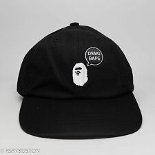 New A Bathing Ape Dover Street Market Ginza Dad Hat Black White Bape DSMG japan