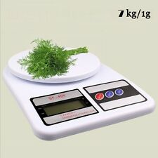 SF 400 KITCHEN SCALE DIGITAL WEGHING SCALE 7KG WEIGHT GROCERY MEASUREMENT SCALE