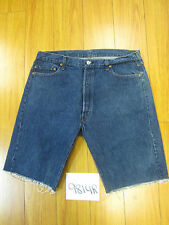 "Levi used 501 high waisted cut off shorts USATag 38"" Meas 36"" Inseam 11.5"" 9814R"