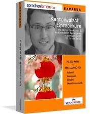 Sprachenlernen24. Kantonesisch-Express-Sprachkurs. CD-ROM (2007) + MP3-Audio-CD