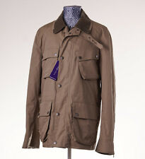 NWT $2195 RALPH LAUREN PURPLE LABEL Water-Repellent Field Jacket L Khaki Olive