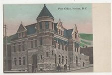 Canada, Post Office, Nelson B.C. Postcard, B150
