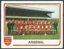 PANINI FOOTBALL 84-#007-ARSENAL TEAM PHOTO