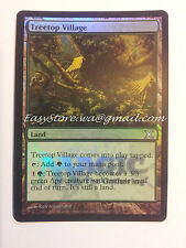 VILLAGGIO ARBORICOLO - TREETOP VILLAGE ENG FOIL FNM - MTG MAGIC