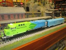 MTH 30-20168-1 GE EVOLUTION DEMO and 30-67829 ENGINEERING CAR PROTOSOUND 3.0