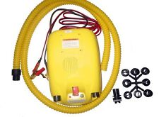 12V Electric Air Pump For Avon Achilles Mercury Zodiac & Inflatable Boats