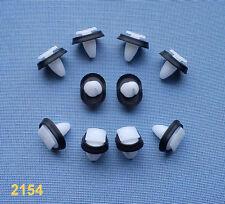 (2154) 10x Verkleidung Clips Befestigung Klips Halter Panel für Fiat, Peugeot,