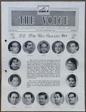 India THE VOICE September 1964 HMV Magazine - Puja Releases