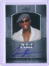 Dennis Rodman On Card Auto 2011 Leaf Metal Muhammad Ali Boxing Signed Autograph