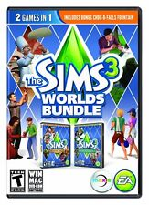The Sims 3 Worlds Bundle - Monte Vista Hidden Springs (PC/MAC Games)