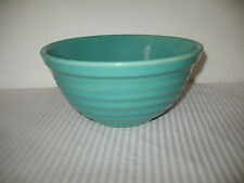 Bauer Pottery Mixing Bowl Number 12 Green Vintage Ringware Ring Good Shape