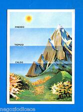 LA TERRA - Panini 1966 - Figurina-Sticker n. 59 - PRESSIONE ATMOSFERICA -New