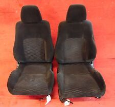 97-01 Honda Prelude OEM front Left & right seats assembly STOCK factory black