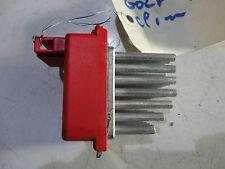 VW GOLF 4 POLO 6N2 RESISTANCE DE CHAUFFAGE CLIMATISATION 1J0 907 521 - 1J0907521