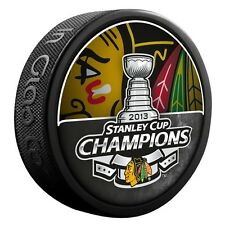 2013 CHICAGO BLACKHAWKS STANLEY CUP CHAMPIONS COMMEMORATIVE PUCK RARE!
