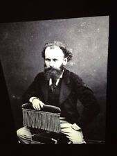 "Gaspard Nadar ""Portrait Edouard Manet 1863"" 35mm Early French Photography Slide"