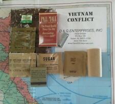 Vintage Military Vietnam CRation CRations 5-pack cig's - PallMalls**