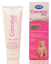 Sasmar CONCEIVE PLUS Vaginal Lubricant Gel - Sperm Friendly - 75ml Tube