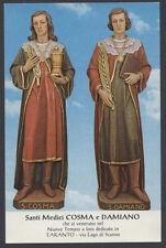 santino-holy card*SS.COSMA E DAMIANO MM.-TARANTO