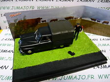 altaya IXO 1/43 diorama route bleue RN7 SIMCA aronde intendante pick-up bâché