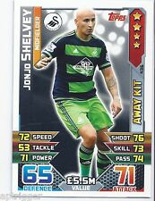 2015 / 2016 EPL Match Attax Away Kit (436) Jonjo SHELVEY Swansea