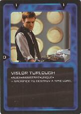 "Doctor Who MMG CCG - Character ""Vislor Turlough"" Card"